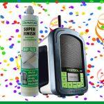 Vind de goudstaaf in de actiekokers van DRY FLEX® SF en win een Festool bouwradio!