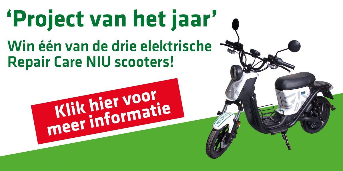 Project van het jaar - win een scooter!