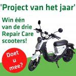 Project van het jaar - win een scooter