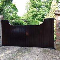 Gate repair and refinish.