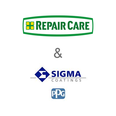 Samenwerking Repair Care en Sigma Coatings (PPG)