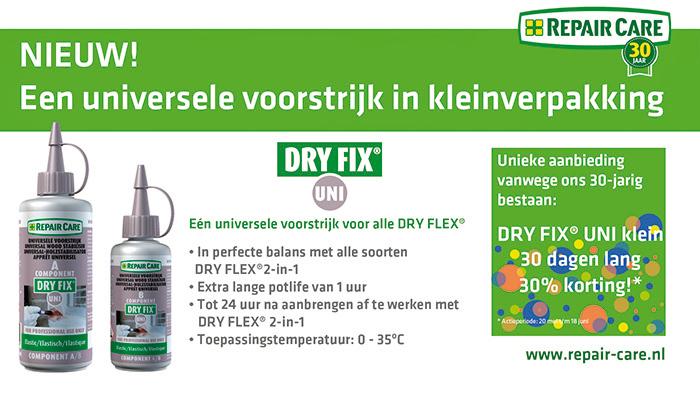 Voorjaarsactie BMH - DRY FIX® UNI klein